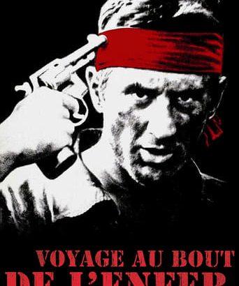"""Affiche du film """"Voyage au bout de l'enfer"""""""