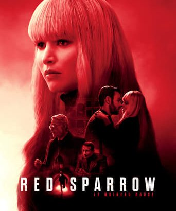 "Affiche du film ""Red Sparrow"""
