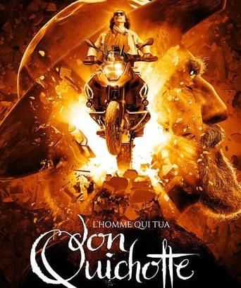 """Affiche du film """"L'homme qui tua Don Quichotte"""""""