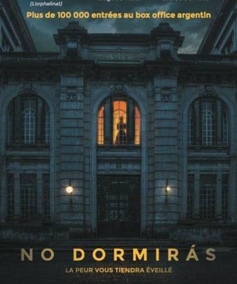 """Affiche du film """"No dormirás"""""""