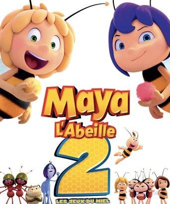 """Affiche du film """"Maya l'abeille 2 : Les Jeux du miel"""""""